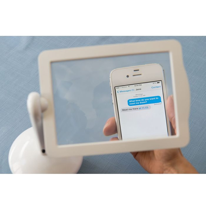 Screen Magnifier with LED Light