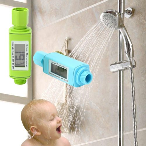 Shower Head Water Thermometer