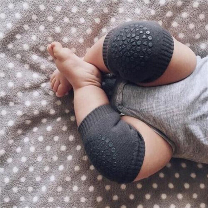 1 Pair Baby Anti-slip Safety Crawling Knee Pad