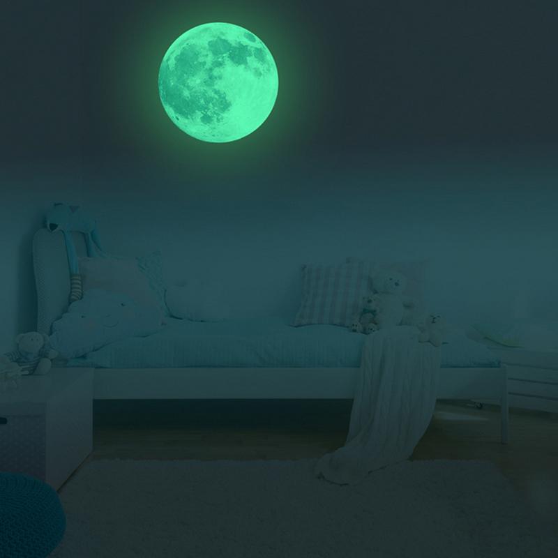 Glow In The Dark Moon Sticker