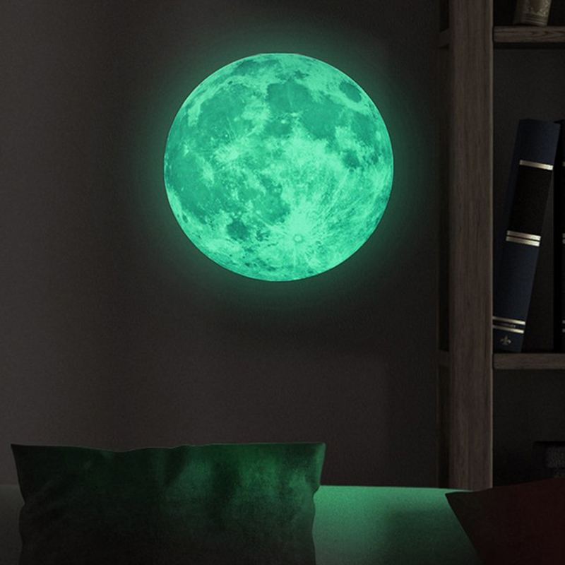 Glow In The Dark Moon Sticker
