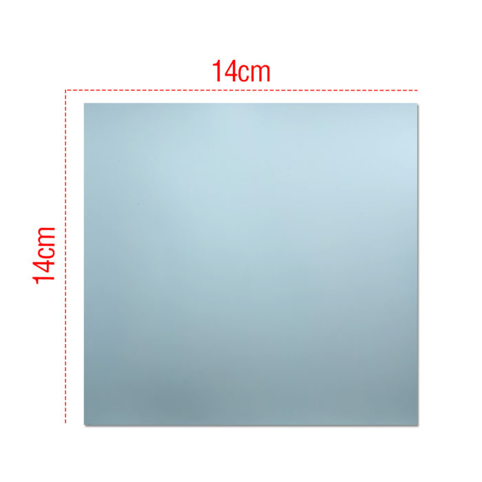 Adhesive Square Mirror Wall Stickers