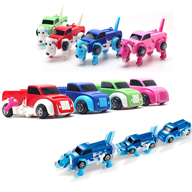 Automatic Transform Dog Car Vehicle