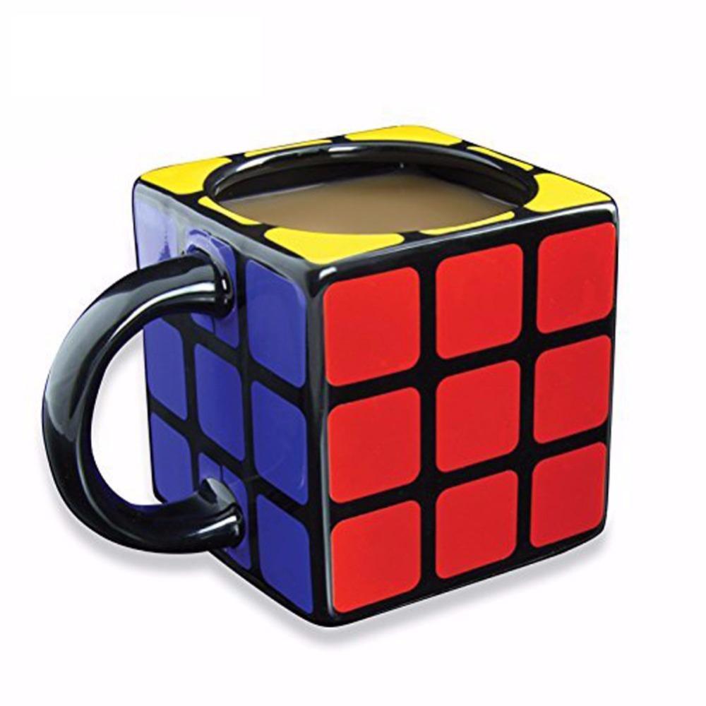 Ceramic 3D Rubik's Cube Mug
