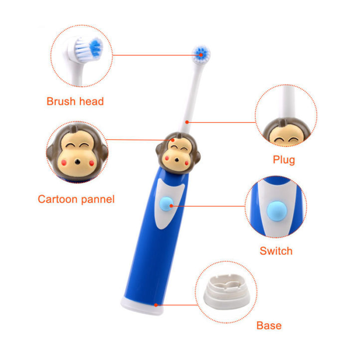 Cartoon Themed Children's Electric Toothbrush