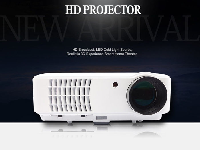 Android 4.4 5500 Lumens LED Projector