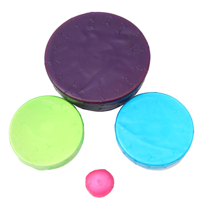 Universal Silicone Stretch Suction Lids
