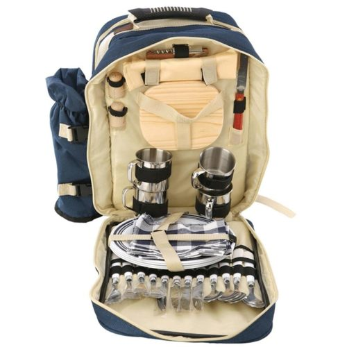 Waterproof Double Shoulder Strap Picnic Backpack