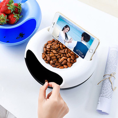 Bowl With Phone Holder