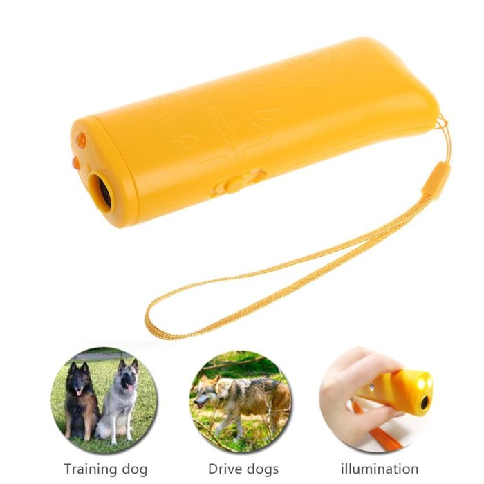 Ultrasonic Anti Barking Device & Dog Trainer