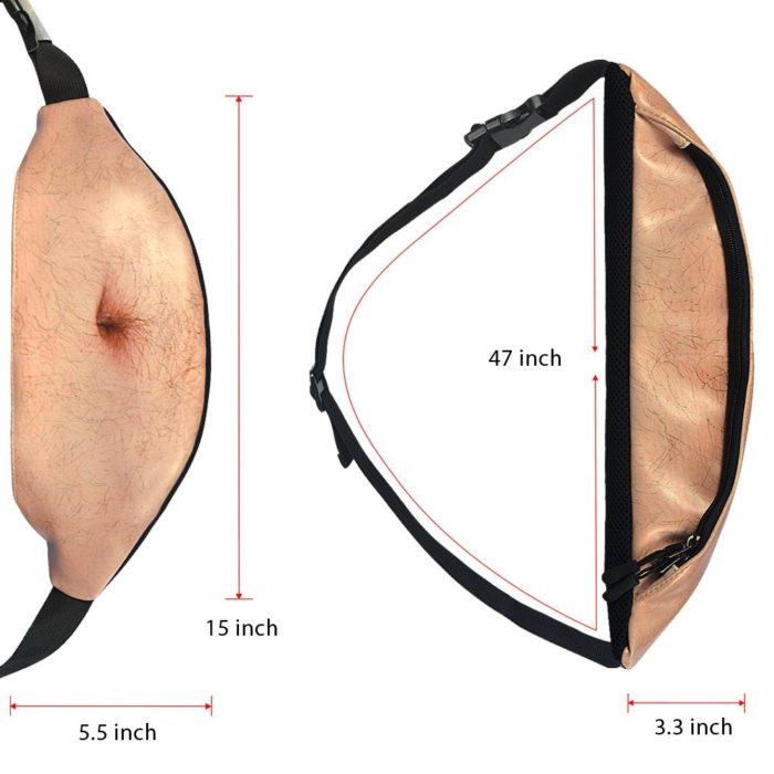 Funny Beer Belly Waist Bag