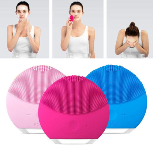 Rechargeable Silicone Electric Face Cleanser