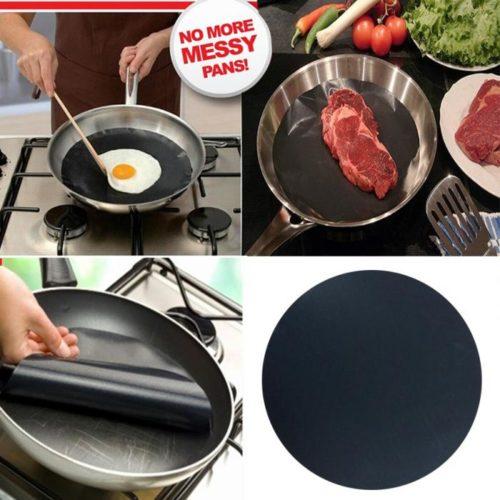 Universal Non-Stick Round Pan liner