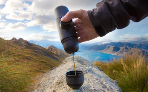 Portable Nespresso Capsule Coffee Maker