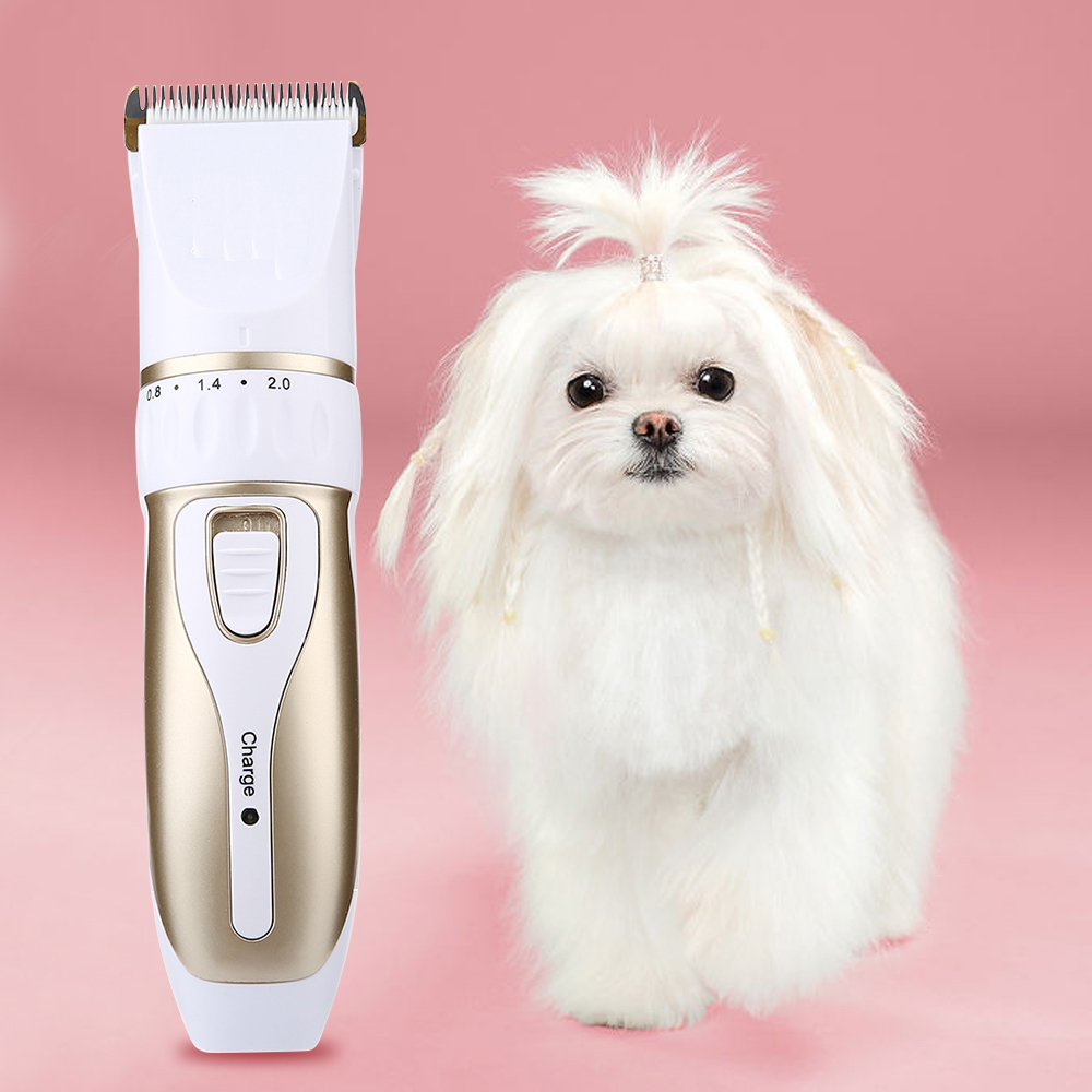Electric Rechargeable Pet Hair Trimmer
