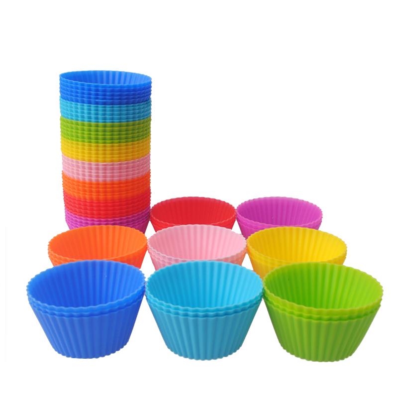 Reusable Silicone Cupcake Mold (Set Of 5)