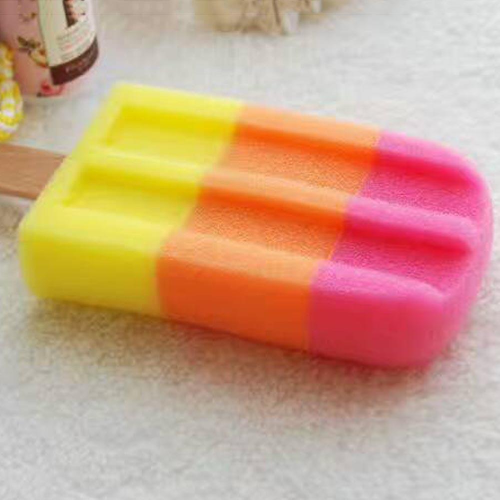 Rainbow Ice Cream Themed Shower Sponge Life Changing