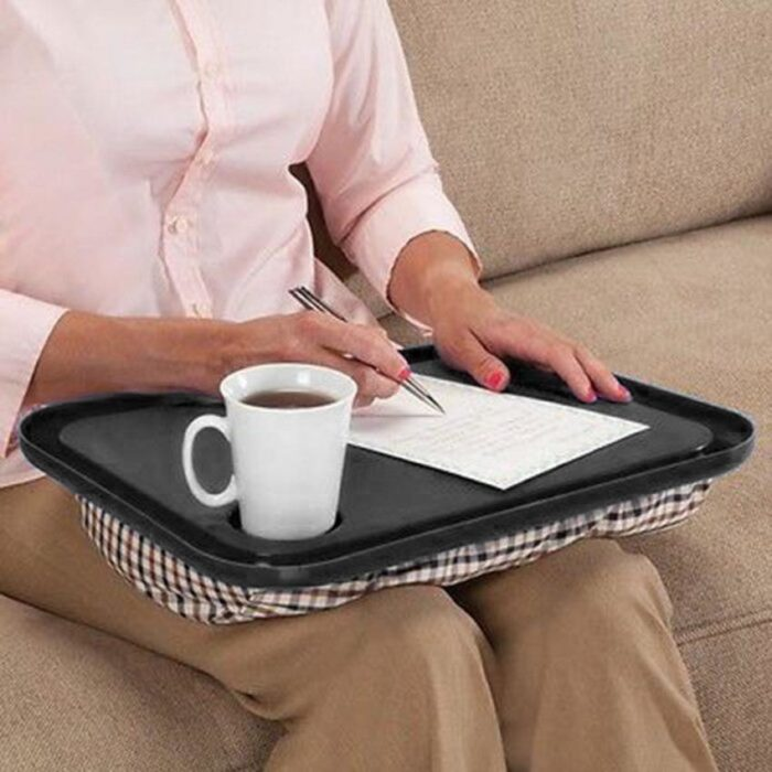 Portable Lap Table With Beanbag Base