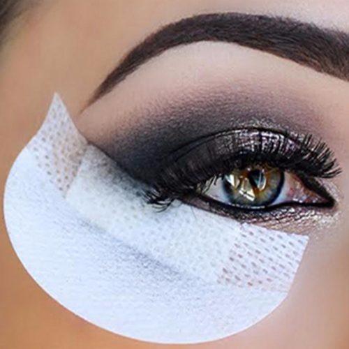 Disposable Eye-Makeup Application Protector Pads