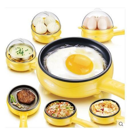 Multi-Functional 2-in-1 Non-Stick Mini Electric Skillet