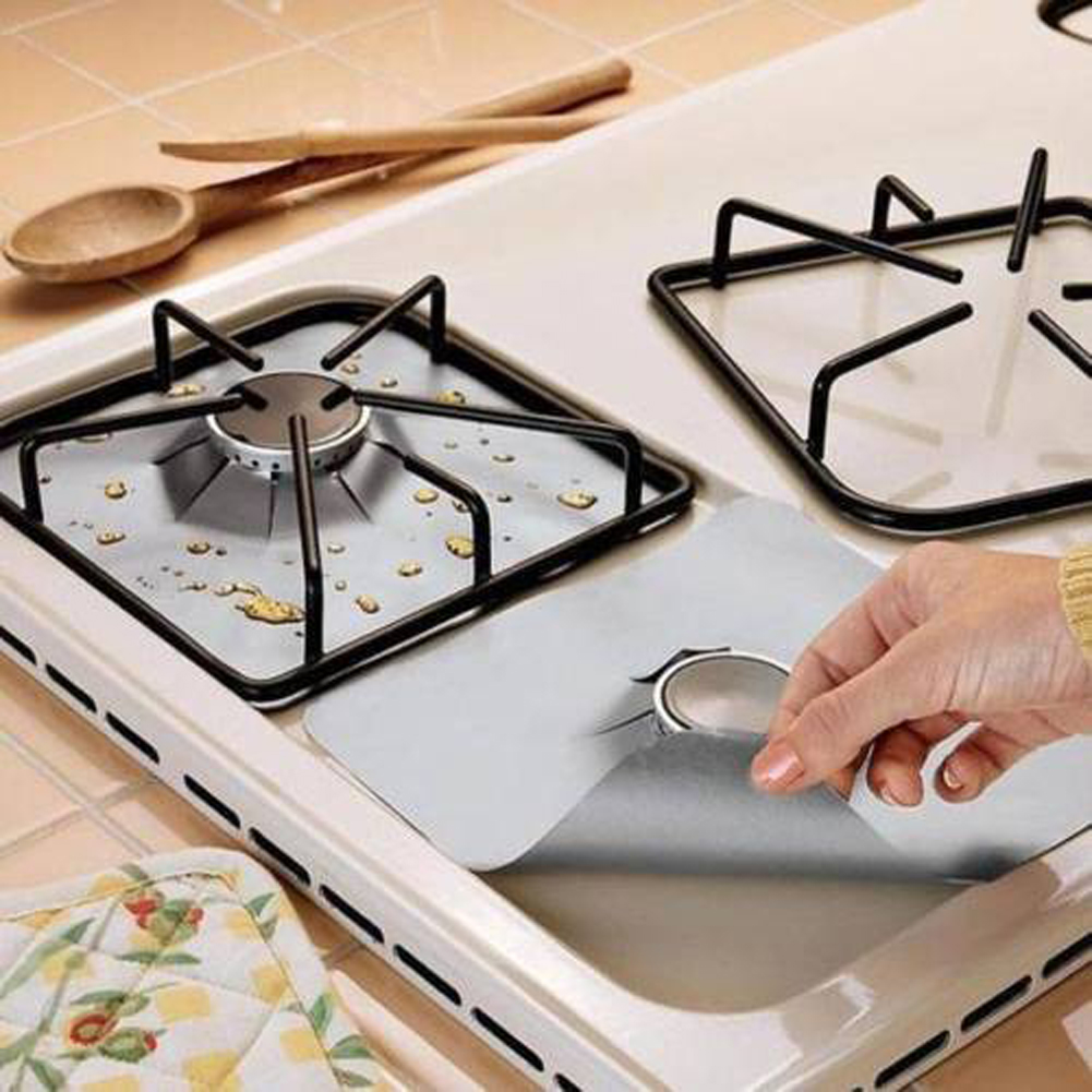 Gas Range Protectors Stove Covers (Set of 4)