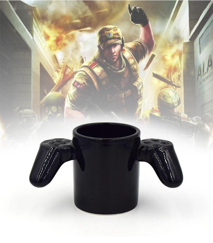 Game Controller Shaped Coffee Mug