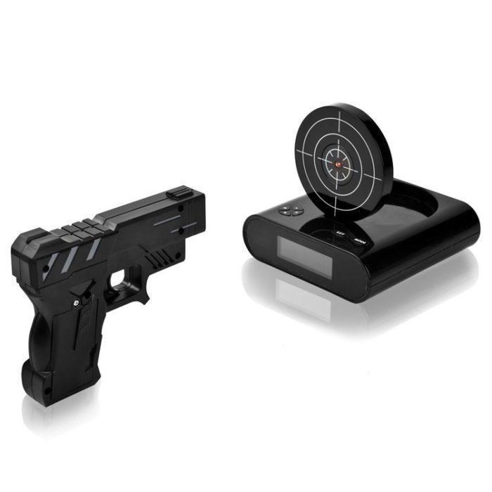 Target Laser Shooting Alarm Clock