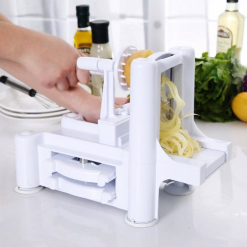3 in 1 Tri-Blade Vegetable Slicer Spiralizer