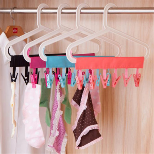 Hanger Clothespin Rack