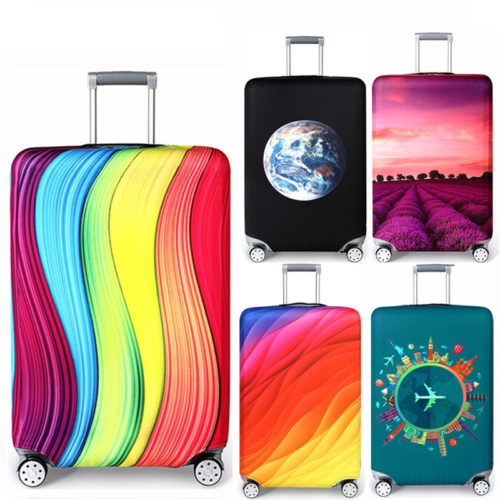 Elastic Fabric Luggage Cover
