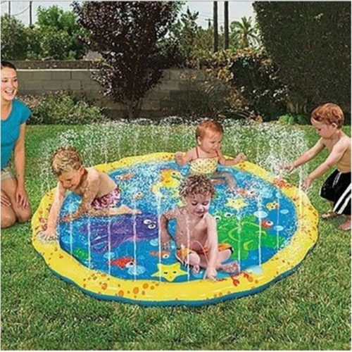Inflatable Water Sprinkler Play Mat