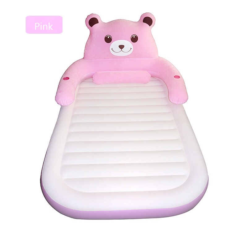 Portable Cartoon Themed Inflatable Air Mattress With