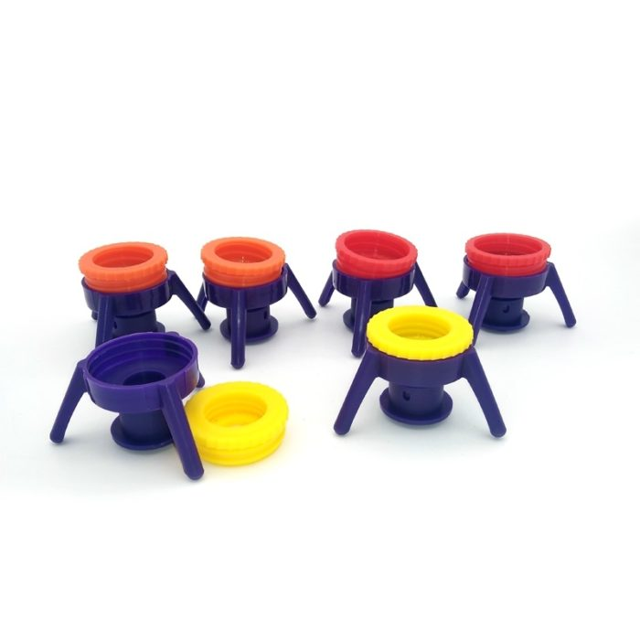 Reusable Bottle Cap & Stand (Set of 3)