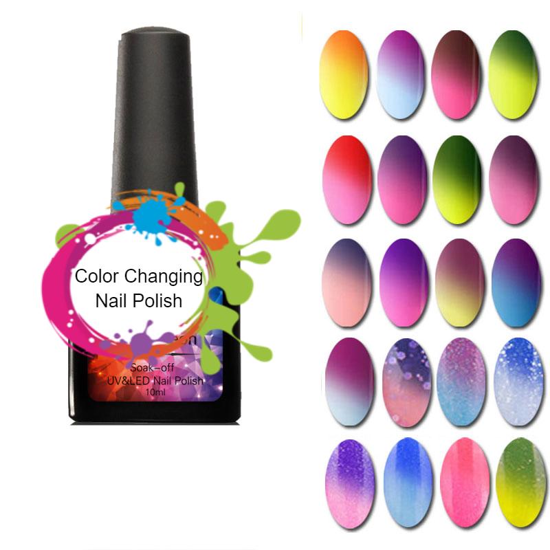 Color Changing Nail Polish-Thermal Nail Polish / Nail Gel - Life ...