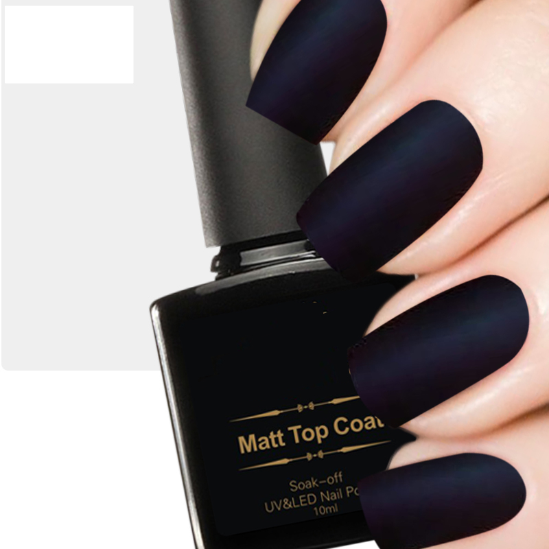 Matte Nail Polish Top Coat Transpa Matt Gel