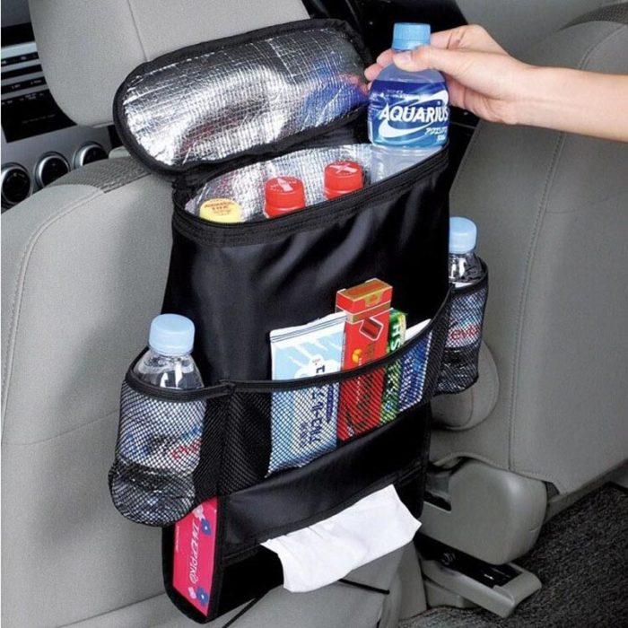 Car Organizer With Cooler Bag