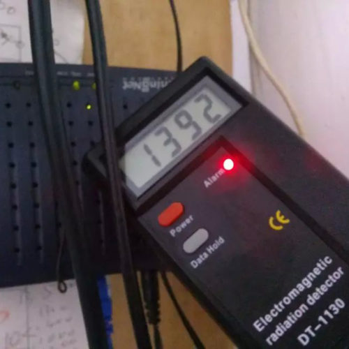 LCD Digital Radiation Dosimeter
