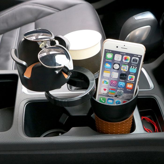 Multifunctional Car Storage Multi-cup Case Box