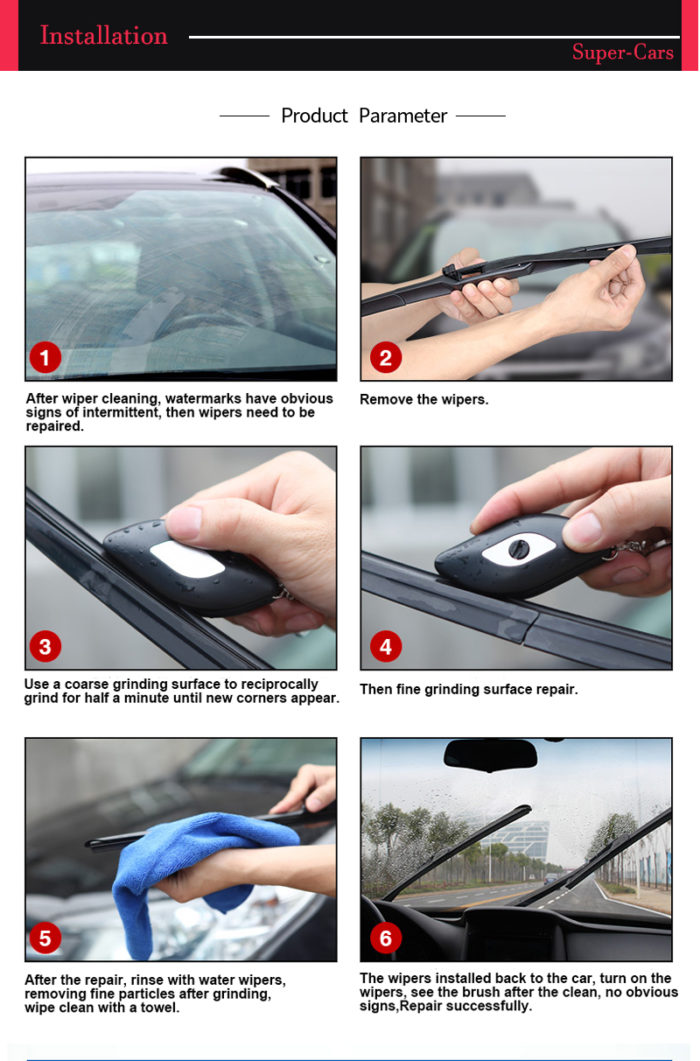 Car Windshield Wiper Restorer Tool