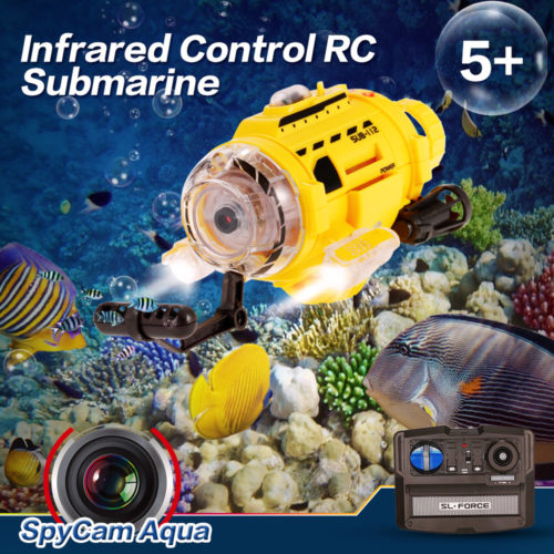 RC Submarine Camera