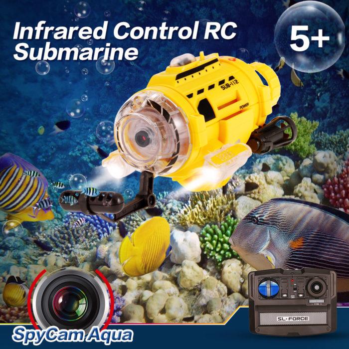 RC Submarine Camera