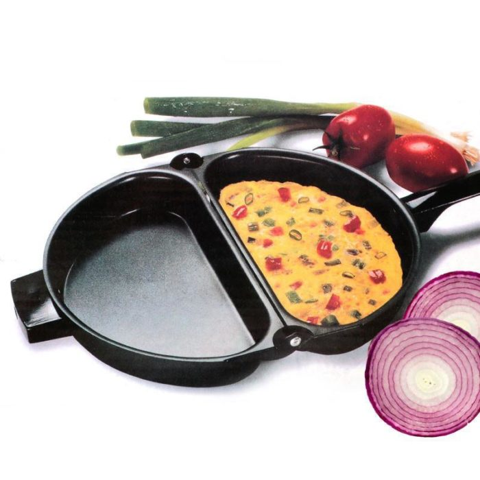 Non-stick Folding Omelette Pan