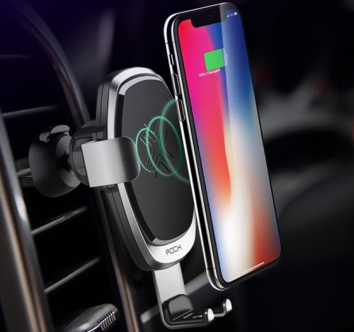 Universal Qi Car Wireless Charger For iPhone & Android
