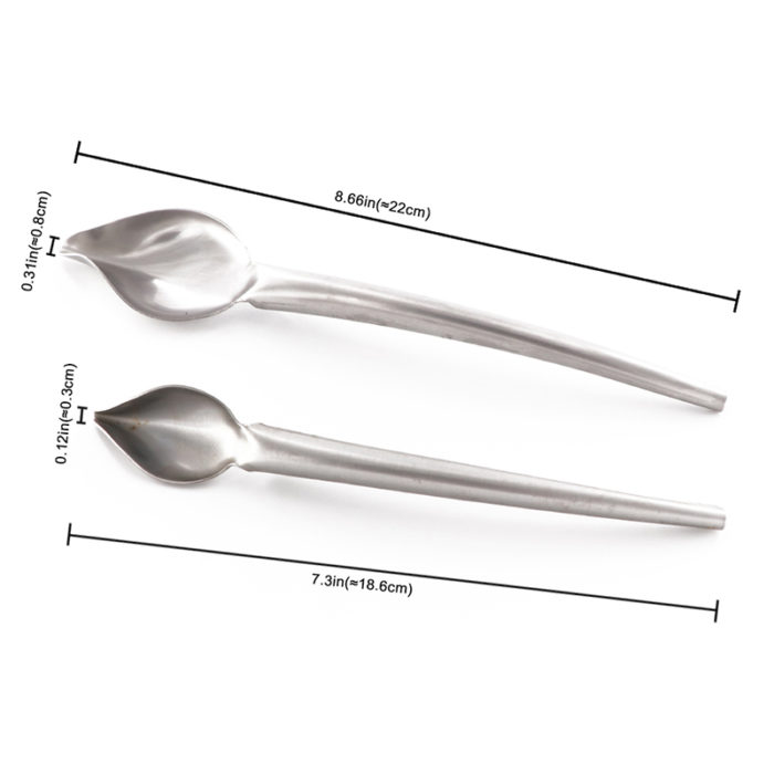 Stainless Steel Chocolate Spoon