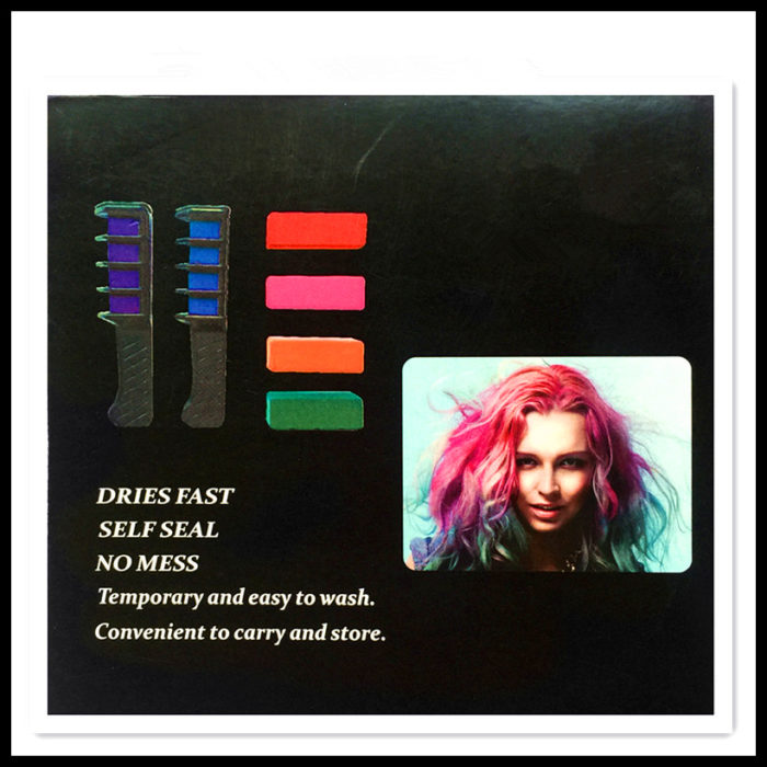 DIY Hair Dye Comb-Temporary Comb in Hair Color Highlights