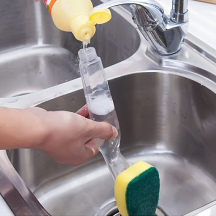 Soap Dispensing Kitchen Sponge