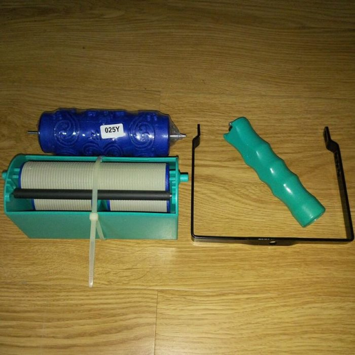 """5"""" Handle Grip Applicator & Wall Pattern Painting Roller"""