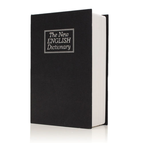 Dictionary Book Secret Hidden Security Safe Box
