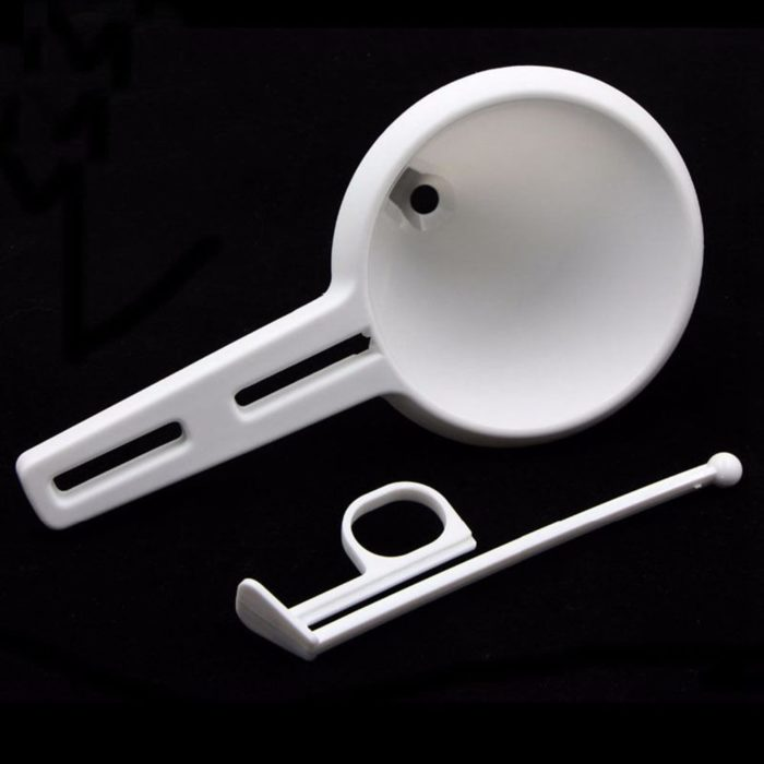 Universal Controlled Dispensing Plastic Funnel
