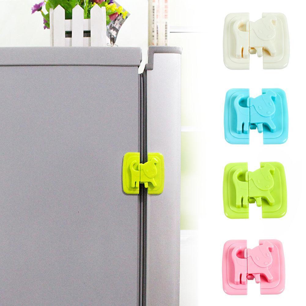 Safety Door Locks For Toddlers : Child toddlers safety door cabinet fridge locks straps